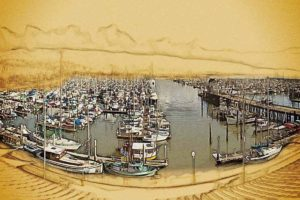 painted harbor view