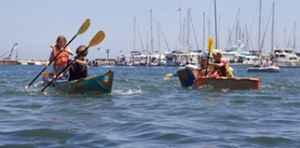 Kardboard Kayak Race