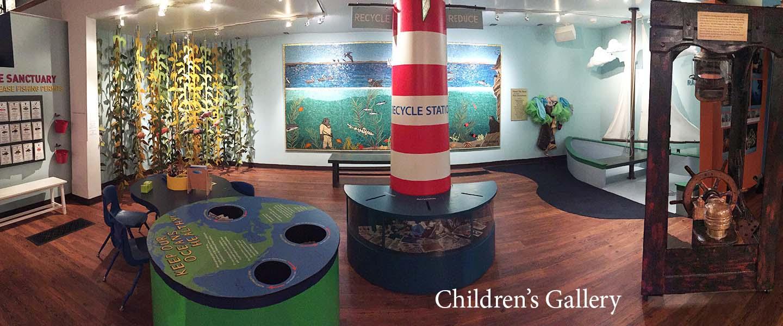Photo of the Gail & Barry Berkus Children's Gallery