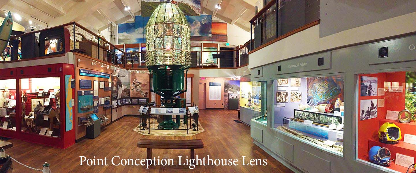 Photo of the Point Conception Lighthouse Lens