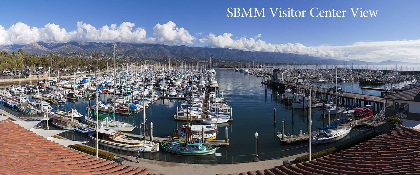 Photo of the view from SBMM Visitor Center