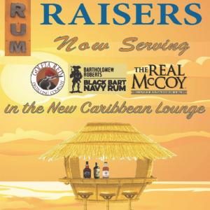 Fake Rum Raiser ad