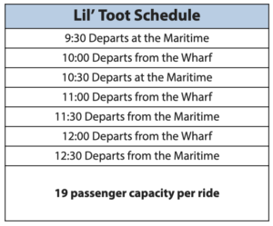 Lil Toot Schedule