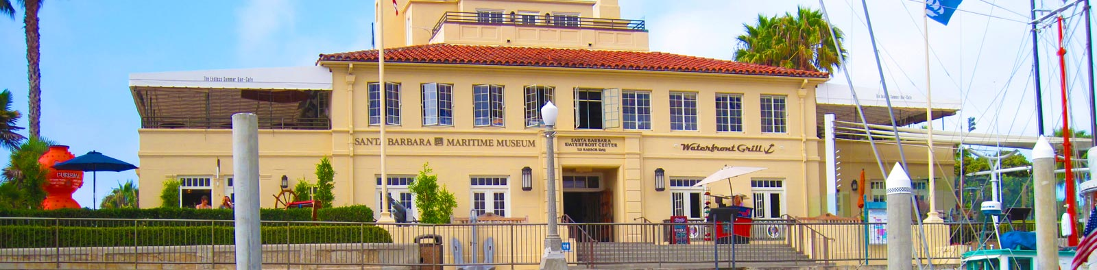 Exterior View of the Santa Barbara Maritime Museum