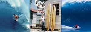 Santa Barbara Surfing Legends, Shaun Tomson and Renny Yater