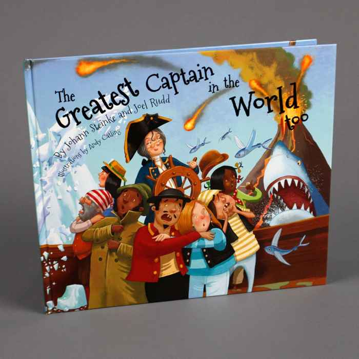 The Greatest Captain in the World Too Hardcover
