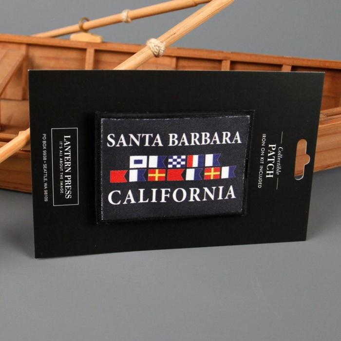 Santa Barbara Nautical Flag Patch
