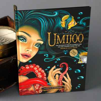 Umijoo: The Wondrous Tale of a Curious Girl and Her Journey Under the Sea Hardcover
