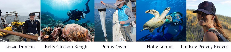 Girls in Ocean Science Photos