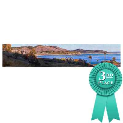 Peggy Brierton Painting, Avila Bay