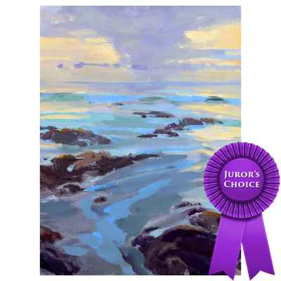 Marcia Burtt Painting, Between Squalls